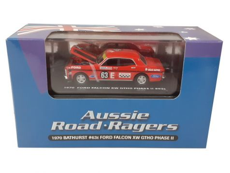 1:64 Aussie Road Ragers 1971 Ford XY Falcon #63E Bruce McPhee