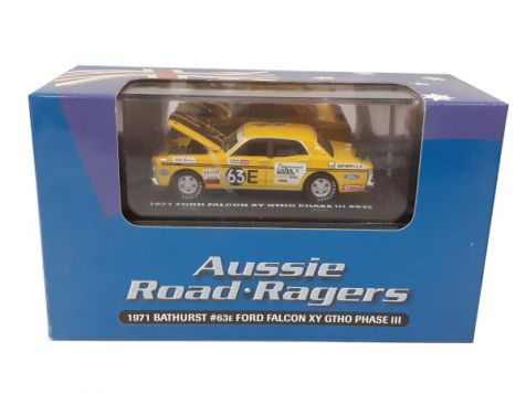 1:64 Aussie Road Ragers 1971 Ford XY Falcon GTHO #10 Ian 'Pete' Geoghegan