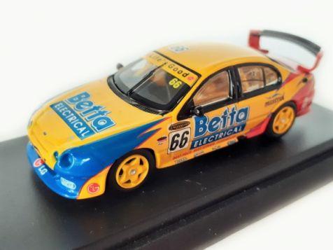 1:64 Biante 2002 Ford AU Falcon XR8 #66 Tony Longhurst - HAND SIGNED