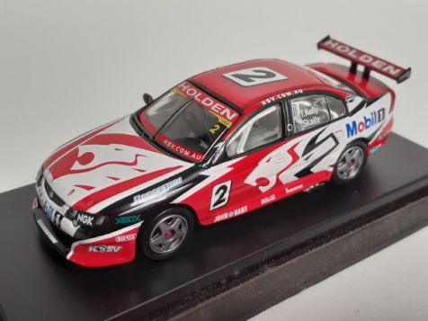 1:64 Biante - Holden VY Commodore - 2004 HRT Launch Car - #2 T.Kelly/Skaife - Item# B642001G
