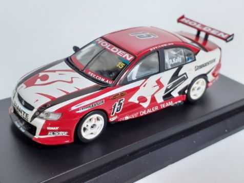 1:64 Biante 2005 Holden VZ Commodore #22 Todd Kelly