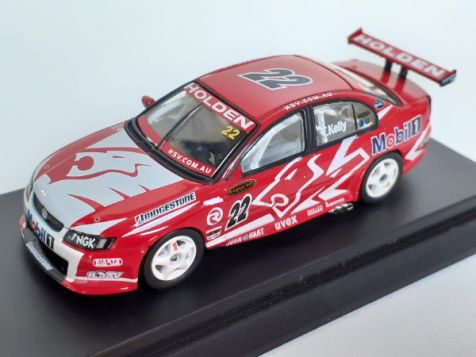 1:64 Biante 2004 Holden VY Commodore #22 Todd Kelly