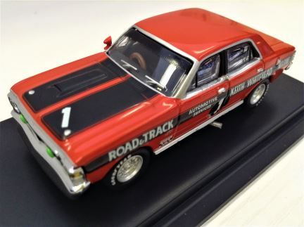 1:64 Biante - Ford Falcon XW GTHO - 1970 - #1 Fred Gibson - Item# B642102F