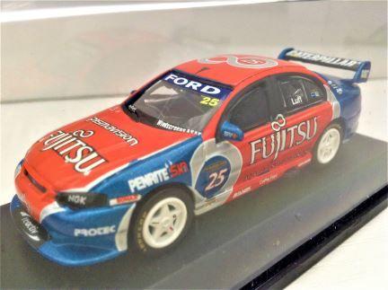 1:64 Classic Carlectables - Ford BA Falcon - Britek Motorsport - #25 Warren Luff - Item# 64111