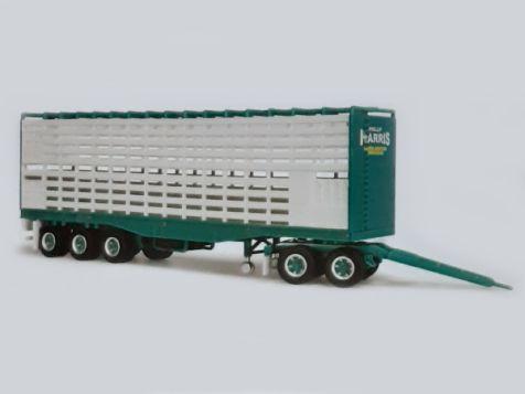 PREORDER 1:64 Highway Replicas Phillip Harris Additional Livestock Trailer 12981