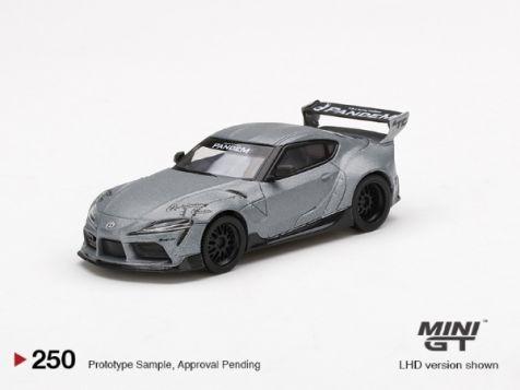 1:64 MiniGT LB WORKS Toyota GR Supra in White