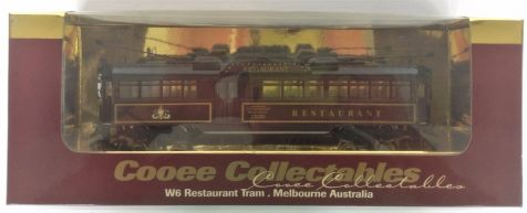1:76 Cooee Collectables W6 Restaurant Tram, Melbourne Australia No. 939