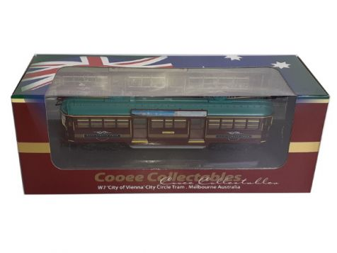 1:76 Cooee Collectables W7 'City of Vienna' City Tram, Melbourne Australia No. 1020