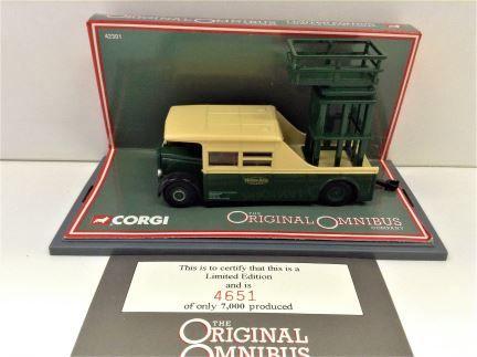 1:76 CORGI - The Original Omnibus Company - Bristol Tower Wagon - Item #42301