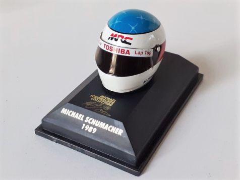 1:8 Minichamps Michael Schumacher Bell Helmet Reynard F3 1989 510380902