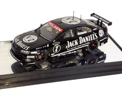 1:43 Classic Carlectables Steven Richards' Year 2006 Perkins Motorsport VZ Commodore diecast model