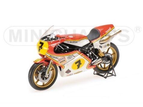 122770007 1:12 Minichamps 1977 Suzuki RG 500 #7 Barry Sheene GP World Champion