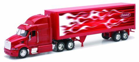 1:32 NewRay Peterbilt 387 Truck with Container LongHauler