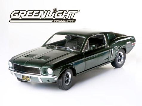 1:18 Greenlight Collectibles Steve McQueen Bullitt 1968 Ford Mustang GT Bullitt
