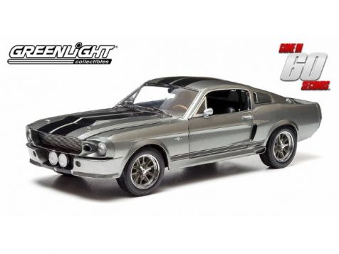 1:18 Greenlight  Hollywood Movie Star Mustang -  1967 Shelby GT500E Mustang - Eleanor - Gone in 60 Seconds - 2000 Movie