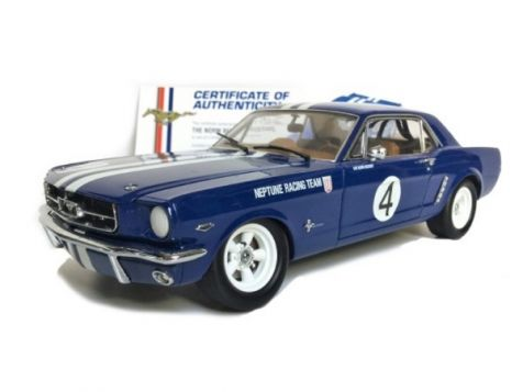 1:18 Classic Carlectables Norm Beechey's 1965 Mustang #4 Neptune Racing Team