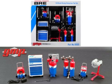 1:18 GMP Brock Racing Enterprises Tool Set