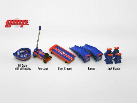 1:18 GMP STP Shop Tool Set (5 Tools)