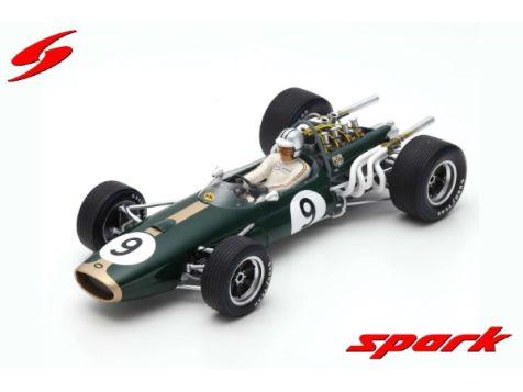 1:18 Spark Brabham BT20 #9 Denny Hulme Winner Monaco GP 1967