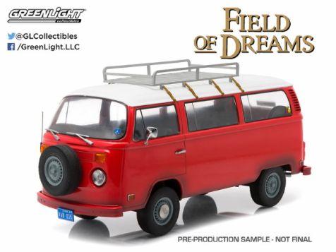 1:18 Greenlight 1973 Volkswagen Type 2 Bus Field of Dreams Movie