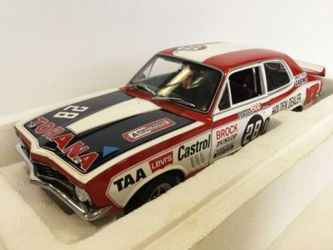 1:18 Biante 1972 Torana GTR XU-1, #28 Perer Brock's first victory in the Hardie Ferodo 500 at Bathurst