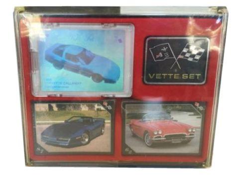 1991 Vette Set: Corvette Collector's Cards