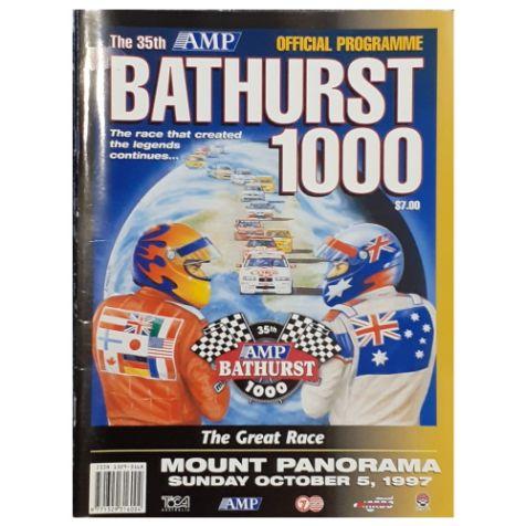 1997 AMP Bathurst 1000 Official Programme