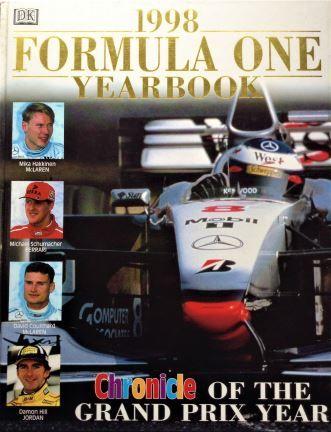 1998 Formula One Yearbook - Dorling Kindersley - 1998 - 0-7513-0657-6