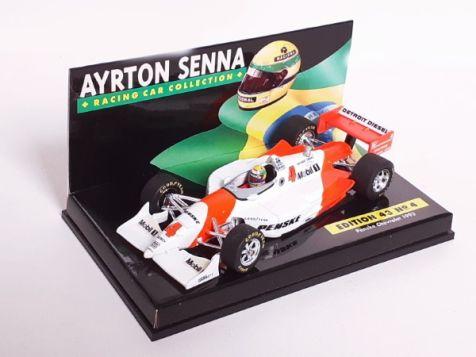 1:43 Minichamps LANG Ayrton Senna Penske Chevrolet 1993 Edition 43 No. 4