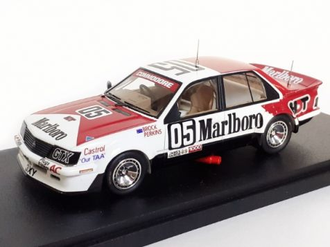 1982 1:43 ACE Models 1982 Bathurst Winner Holden VH Commodore - Peter Brock and Larry Perkins #05 STICKERED