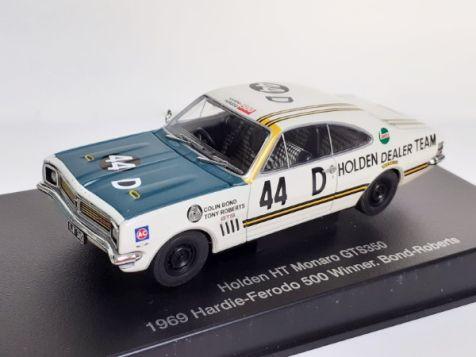 1:43 Autoart Holden Monaro HT GTS350 Bathurst Winner 1969 BOND/ROBERTS #44D