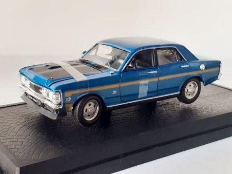 1:32 DDA Ford XW Falcon GTHO in Starlight Blue DDA32377-1
