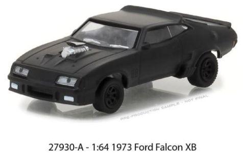 1:64 Greenlight Black Bandit 1973 Ford Falcon XB 27930