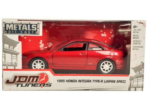1:32 Jada JDM Tuners 1995 Honda Integra Type-R (Japan Spec) White 30944