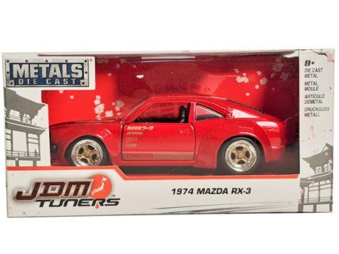 1:32 Jada JDM Tuners 1974 Mazda RX-3 Silver 30957