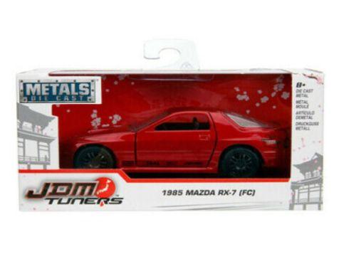 1:32 Jada JDM Tuners 1985 Mazda RX-7 (FC) White 30493