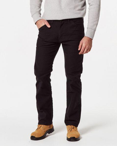 Men's Levi's 505 Regular Fit WORKWEAR UTILITY Pants BLACK CANVAS