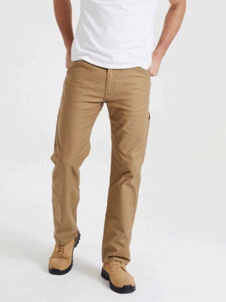 Men's Levi's 505 Regular Fit WORKWEAR UTILITY Pants ERMINE CANVAS