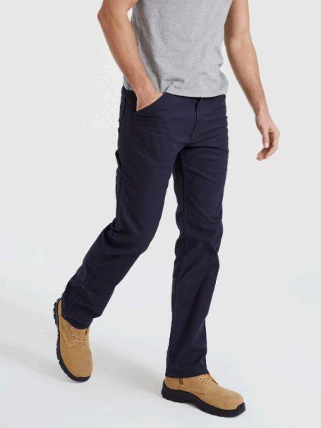 Men's Levi's 505 Regular Fit WORKWEAR UTILITY Pants NIGHTWATCH BLUE CANVAS