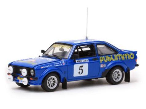 1:43 Rallye By Vitesse Ford Escort Mk II RS1800 1980 Monte Carlo Rally #5 Ari Vatanen