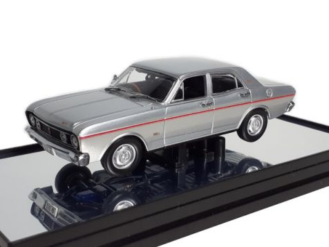 1:43 Classic Carlectables 1968 Ford XT Falcon GT - Silver