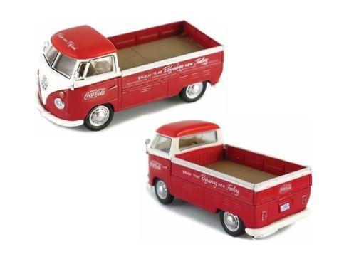 1:43 Motor City Classics 1962 Coca-Cola VW T1 Pickup 440546
