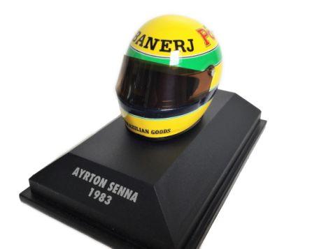 1:8 Minichamps Ayrton Senna Shoei 1993 Helmet