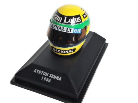 1:8 Minichamps Ayrton Senna 1986 Helmet