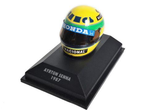 1:8 Minichamps Ayrton Senna 1987 Helmet