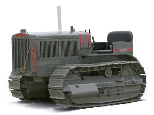 1:16 CAT Twenty Two Track-Type Tractor (with metal tracks) in Grey