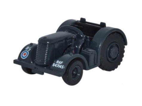 1:76 Oxford Diecast David Brown Tractor RAF Blue/Grey