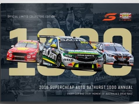 2018 Supercheap Auto Bathurst 1000 Annual Collectors Book