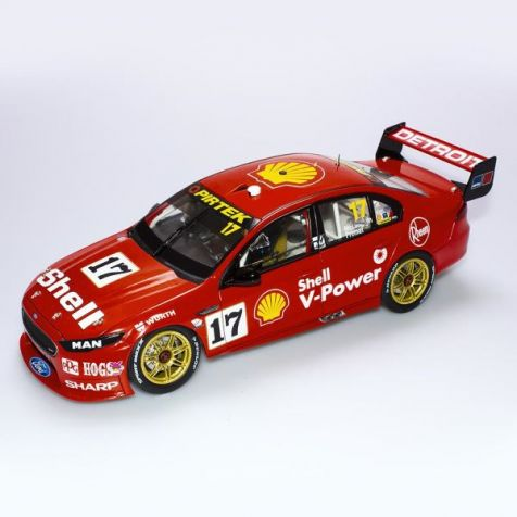 1:12 AC Ford FGX Falcon #12 Coulthard/D'Alberto 2018 Sandown 500 Retro Livery