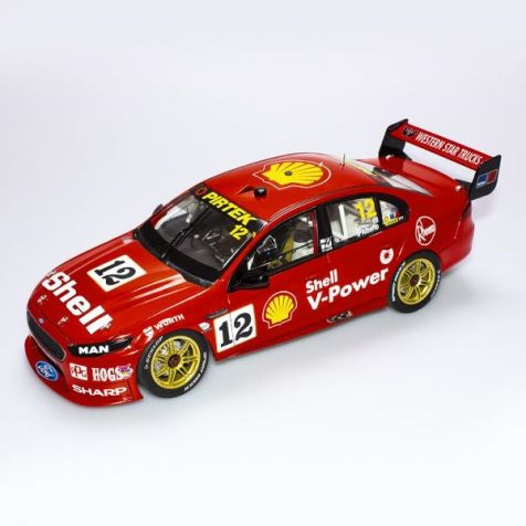 1:18 AC Ford FGX Falcon #17 McLaughlin/Premat 2018 Sandown 500 Retro Livery